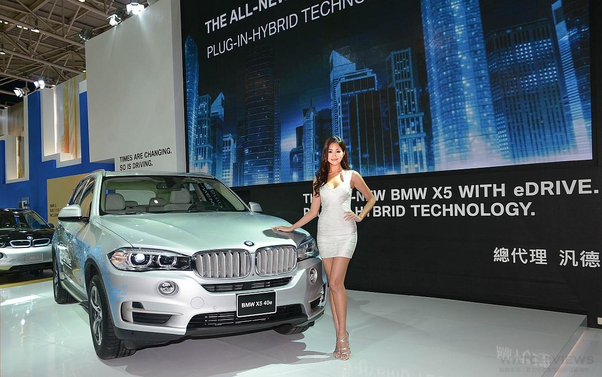 2016世界新車大展,BMW以創新科技觸見未來