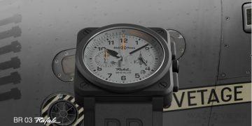 軍風再進化:寶鴻堂台北創始店12月16至25日舉辦Bell & Ross2015限量錶款特展