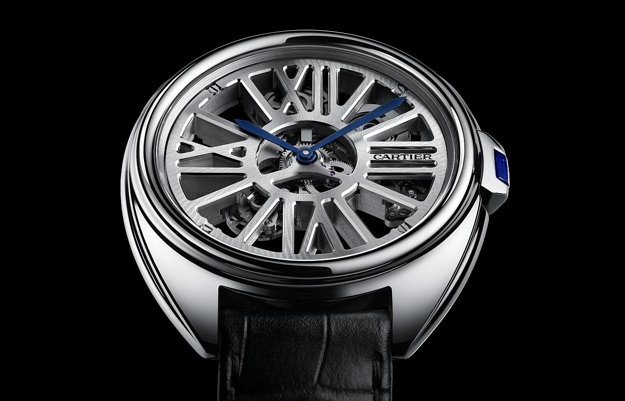 【2016 pre-SIHH報導】CARTIER CLÉ DE CARTIER自動上鏈鏤空腕錶