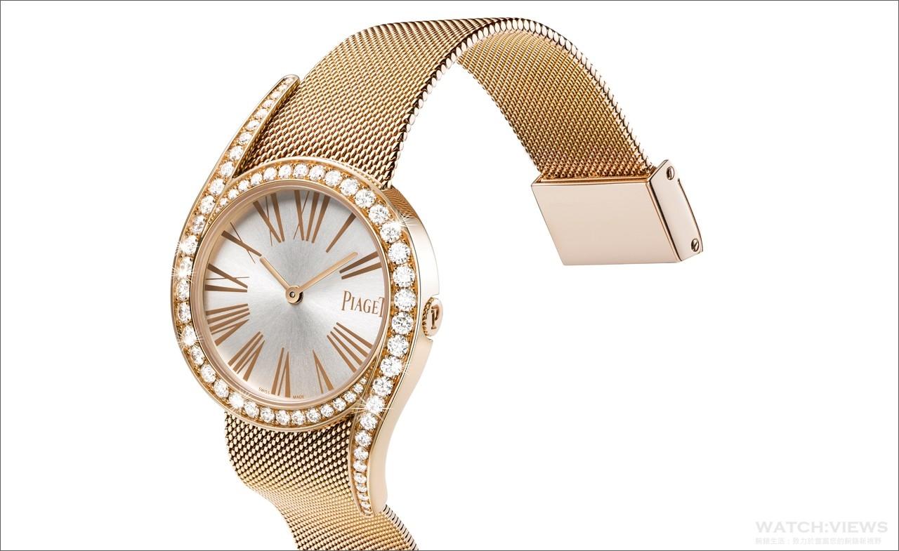 【2016 pre-SIHH報導】當代繆斯:Piaget Limelight Gala Milanese米蘭金質鍊帶款式