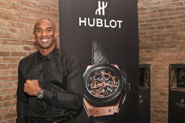 飛越科比時間:HUBLOT品牌大使、籃球界的傳奇巨星Kobe Bryant