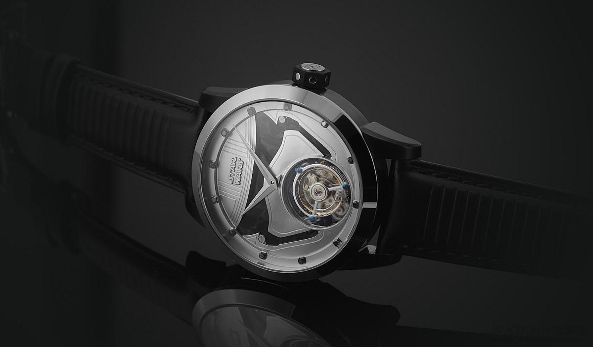 原力覺醒:萬希泉Memorigin Star Wars Captain Phasma陀飛輪腕錶