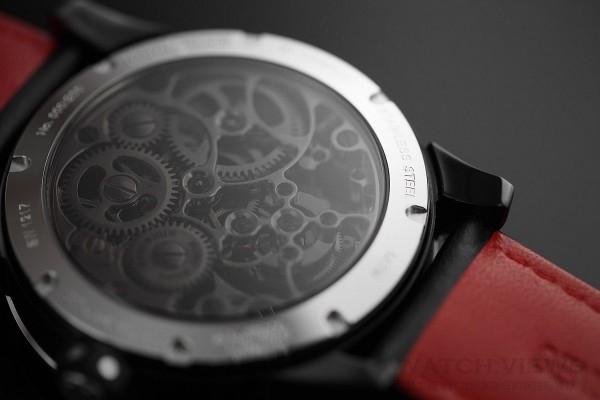 萬希泉星際大戰陀飛輪腕錶錶背