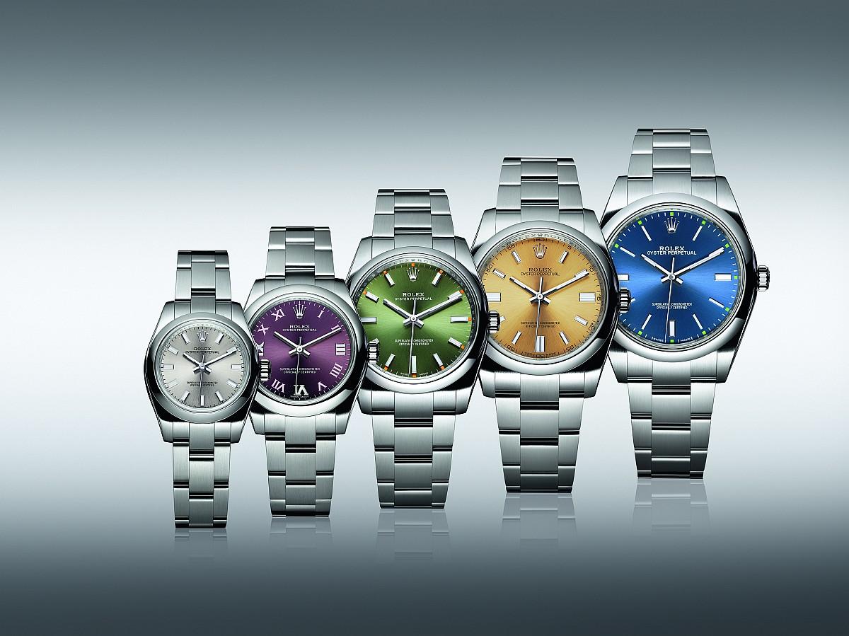 蠔式腕錶的典範:勞力士推出新款Oyster Perpetual系列