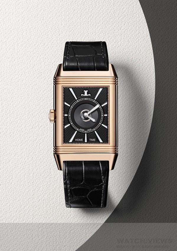 積家Reverso Classic Large Duo經典雙時區翻轉系列腕錶大型款(背面),Q3832420,價格未定。