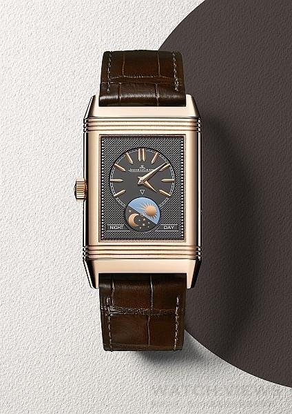 積家Reverso Tribute Calendar日曆翻轉系列腕錶(背面),Q3912420,價格未定