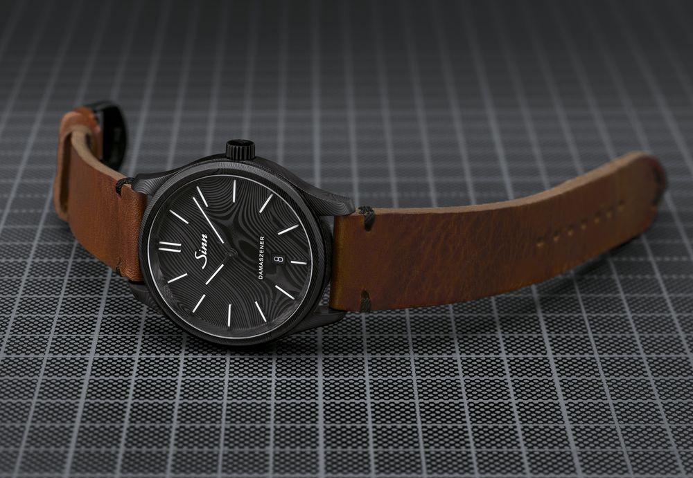 渾然天成──Sinn大馬士革鋼限量腕錶