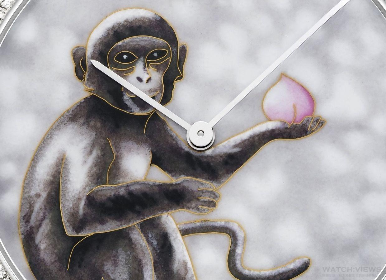 伯爵以「Art & Excellence」系列腕錶喜迎猴年 限定版腕錶為農曆新年獻瑞