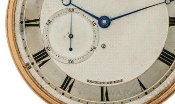 寶璣在安提古倫拍賣會上拍得一枚深具意義的寶璣古董懷錶
