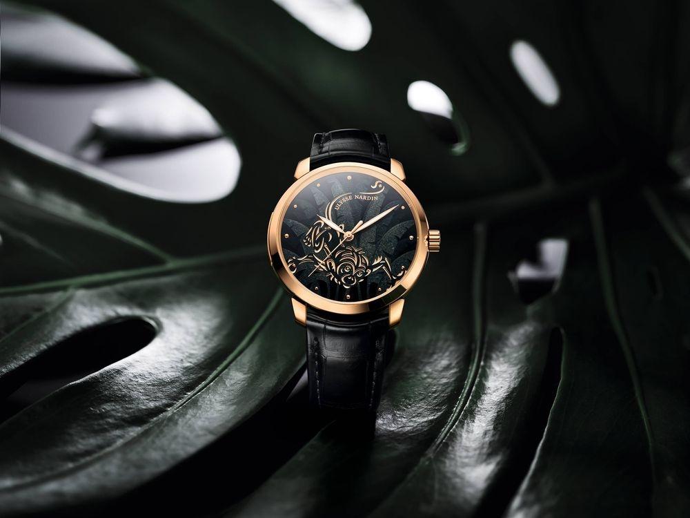金猴獻歲──Ulysse Nardin鎏金靈猴琺瑯腕錶