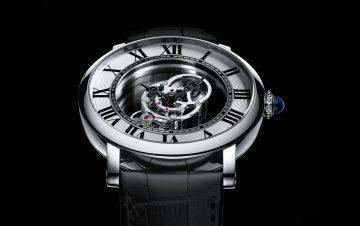 【2016 SIHH報導】卡地亞推出Rotonde de Cartier Astromystérieux天體運轉式神秘陀飛輪腕錶