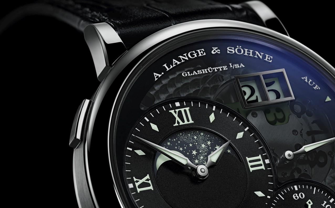 """【2016 SIHH報導】就是這個光:A. Lange & Söhne推出 Grand Lange 1 Moon Phase """"Lumen"""""""