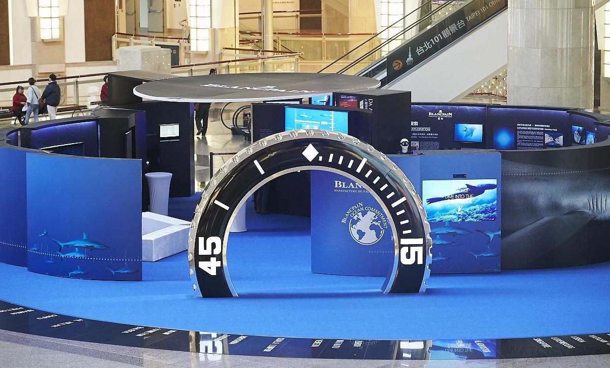 寶鉑「心繫海洋全球巡迴攝影展」元月7日至20日在台北101 MALL正式登場