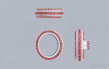 【2016 SIHH報導】Van Cleef & Arpels 梵克雅寶Rubis Secret手鐲高級珠寶腕錶
