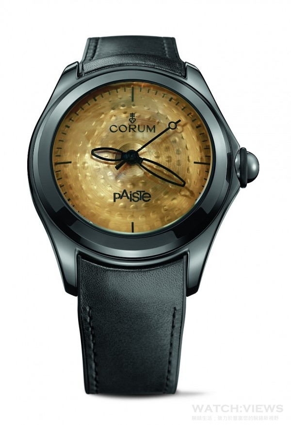崑崙泡泡錶Paiste銅鈸限量錶,建議售價NTD162,000。