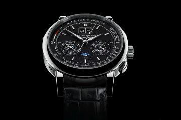 【2016 SIHH報導】具備萬年曆和陀飛輪的計時碼錶:朗格Datograph Perpetual Tourbillon
