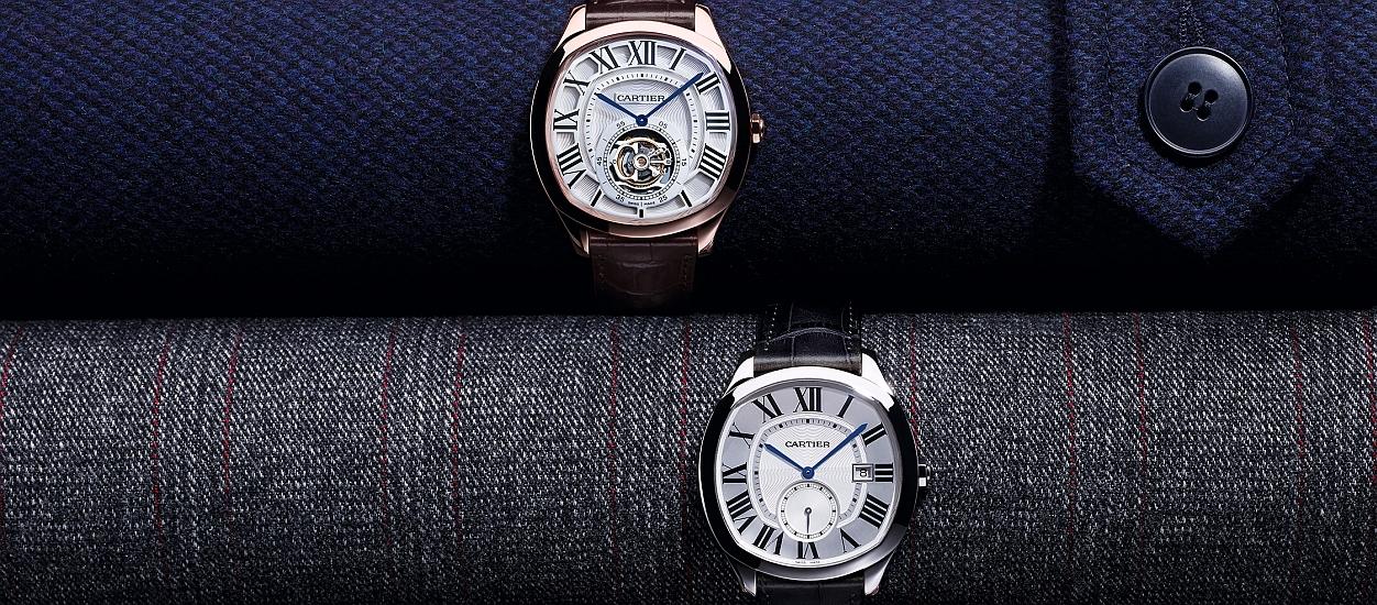 隨心而行:Cartier Drive de Cartier系列腕錶