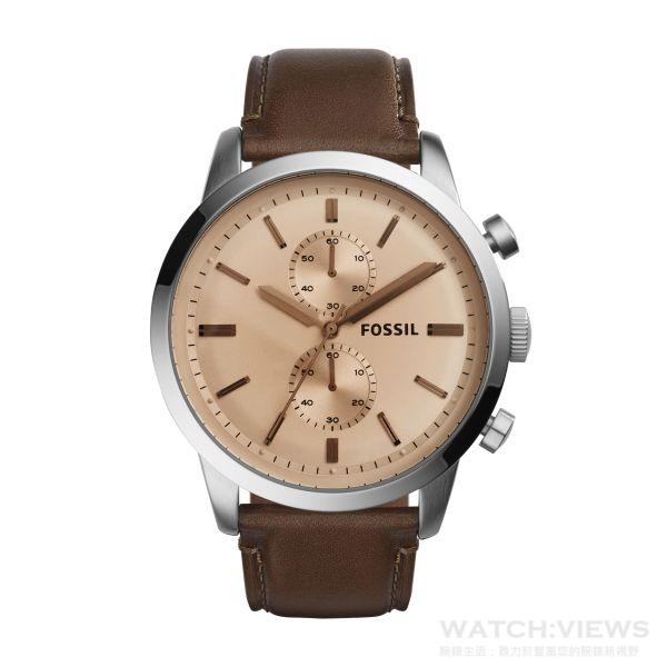 大地印象系列Townsman腕錶,直徑48毫米,參考價NT$5,200。