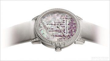 海瑞溫斯頓靜夜Midnight系列Diamond Stalactites 36毫米自動腕錶