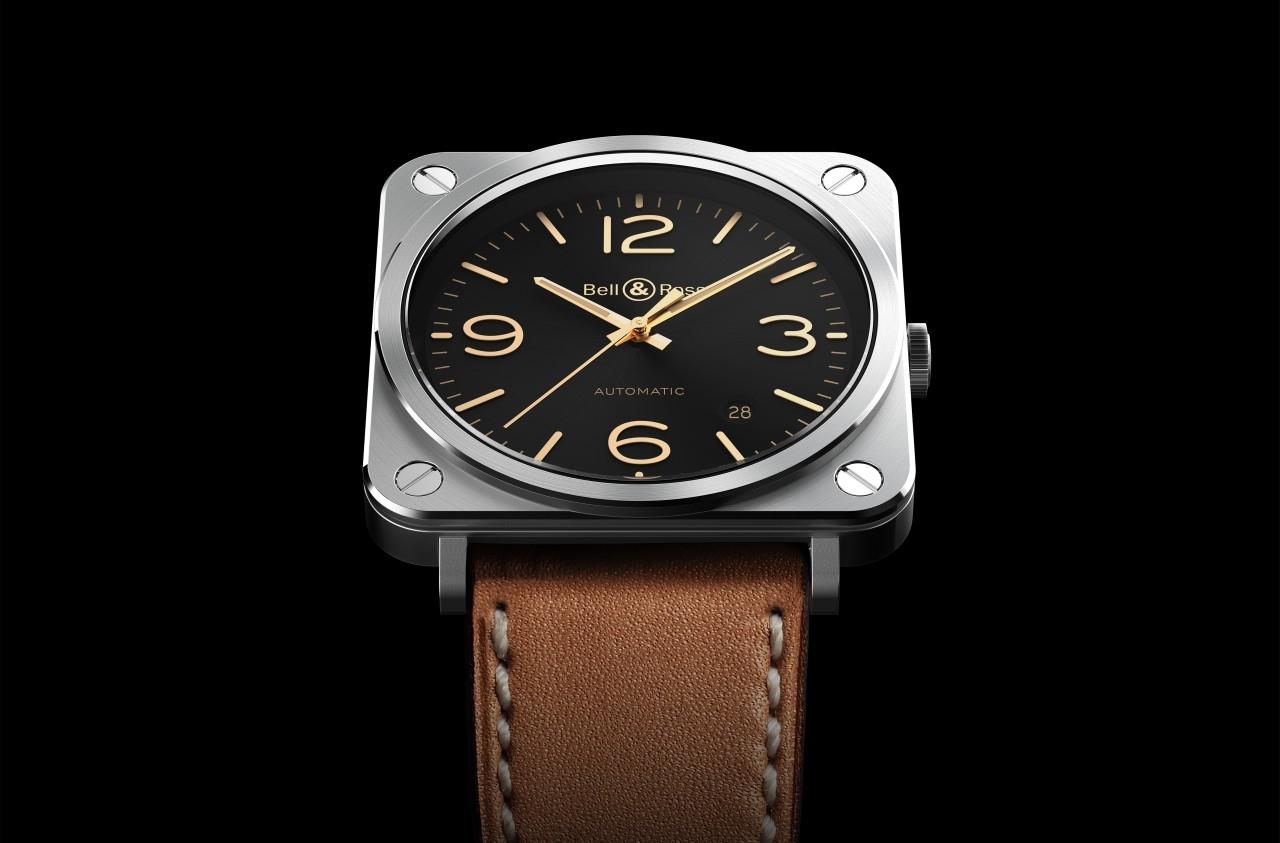 以年終獻禮犒賞辛苦了一年的自己吧:Bell & Ross BR S Golden Heritage腕錶