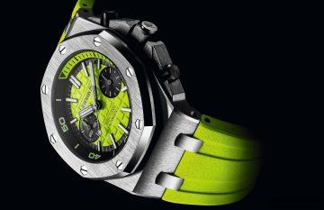 【2016 SIHH報導】潛水趣:愛彼推出全新皇家橡樹離岸型潛水計時腕錶42