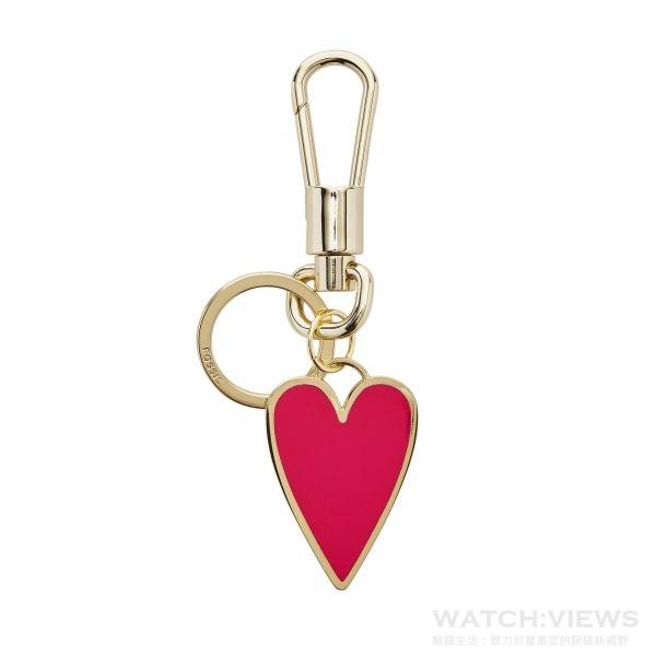 心型鑰匙圈,參考價NT$1,200。