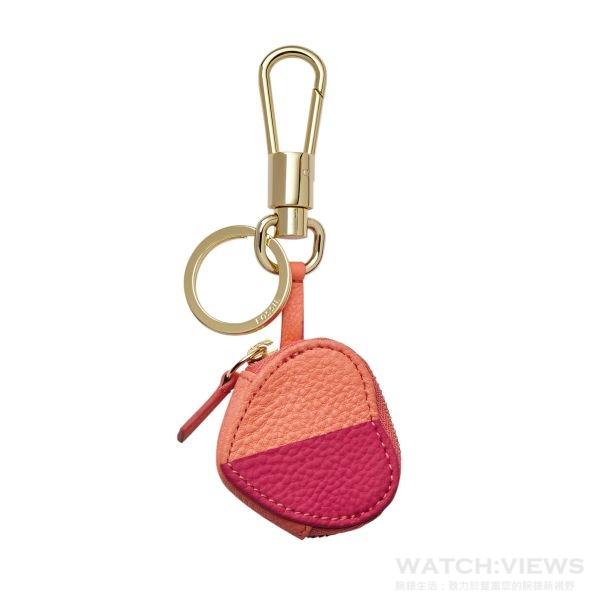 心型小零錢包鑰匙圈,參考價NT$1,600。