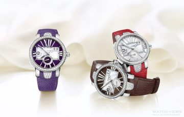 兩地相思繽紛春遊:Ulysse Nardin瑞士雅典錶全新《經理人雙時區女錶》