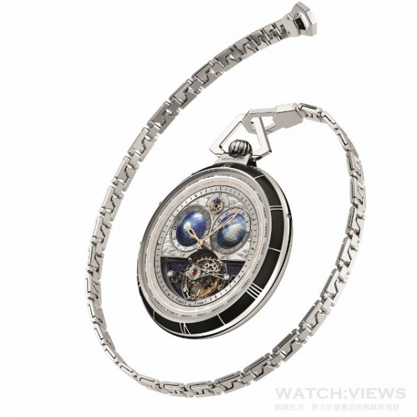 Villeret Tourbillon Cylindrique Pocket Watches-2