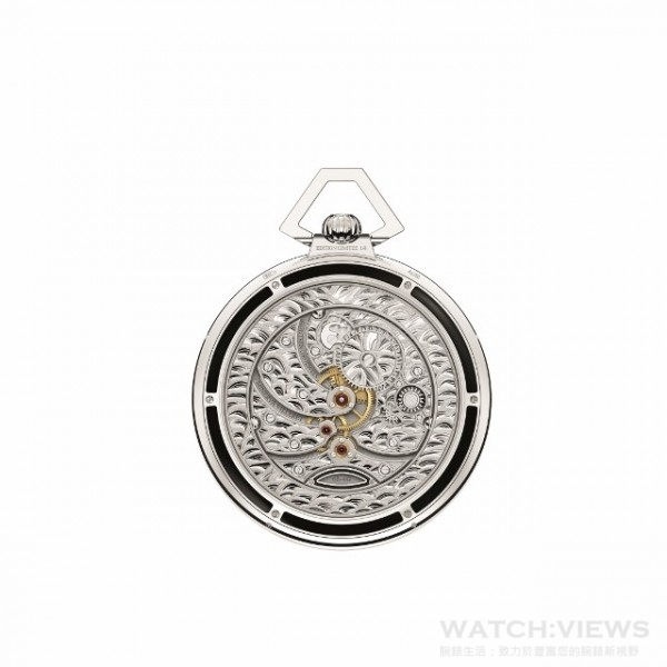 Villeret Tourbillon Cylindrique Pocket Watches-3