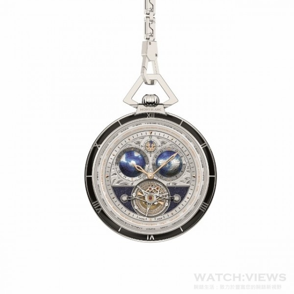 Villeret Tourbillon Cylindrique Pocket Watches-4