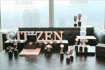 CITIZEN 2016年限定錶款與F150光動能GPS衛星對時男錶全新上市