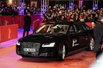 Audi自動駕駛 駛入柏林影展紅毯