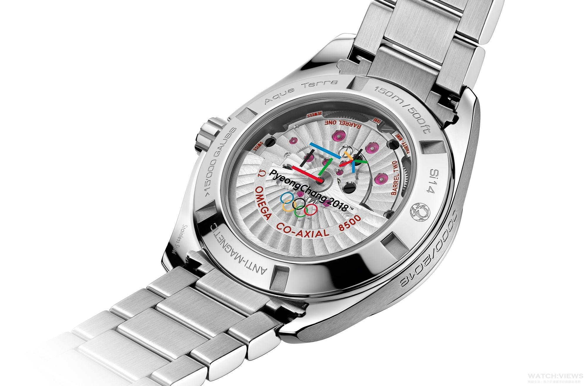 倒數兩年,Omega獻上2018平昌冬季奧運限量腕錶