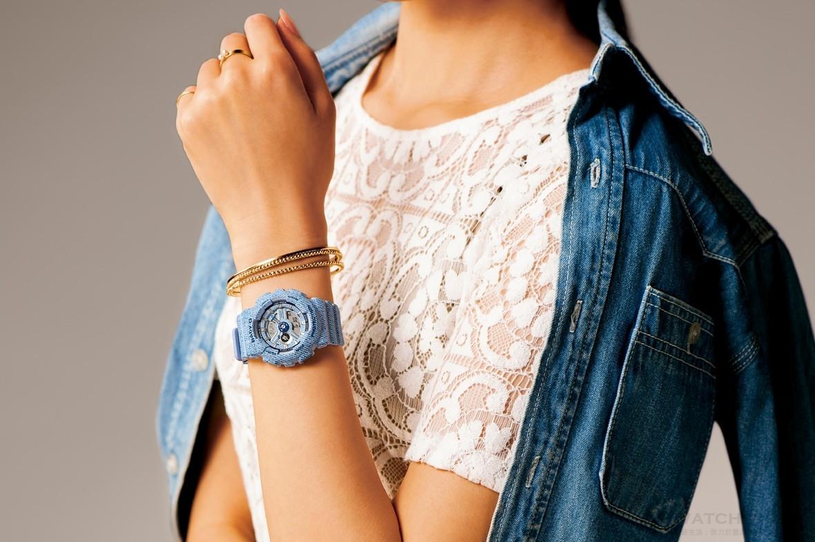 經典不敗的丹寧風潮:G-SHOCK、BABY-G 全新「單寧」系列錶款