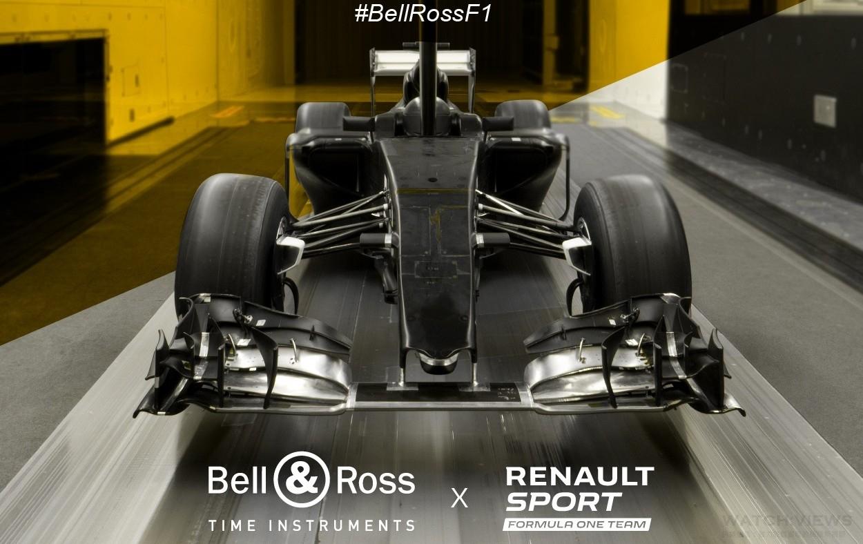 Bell & Ross 與Formula one雷諾車隊攜手合作