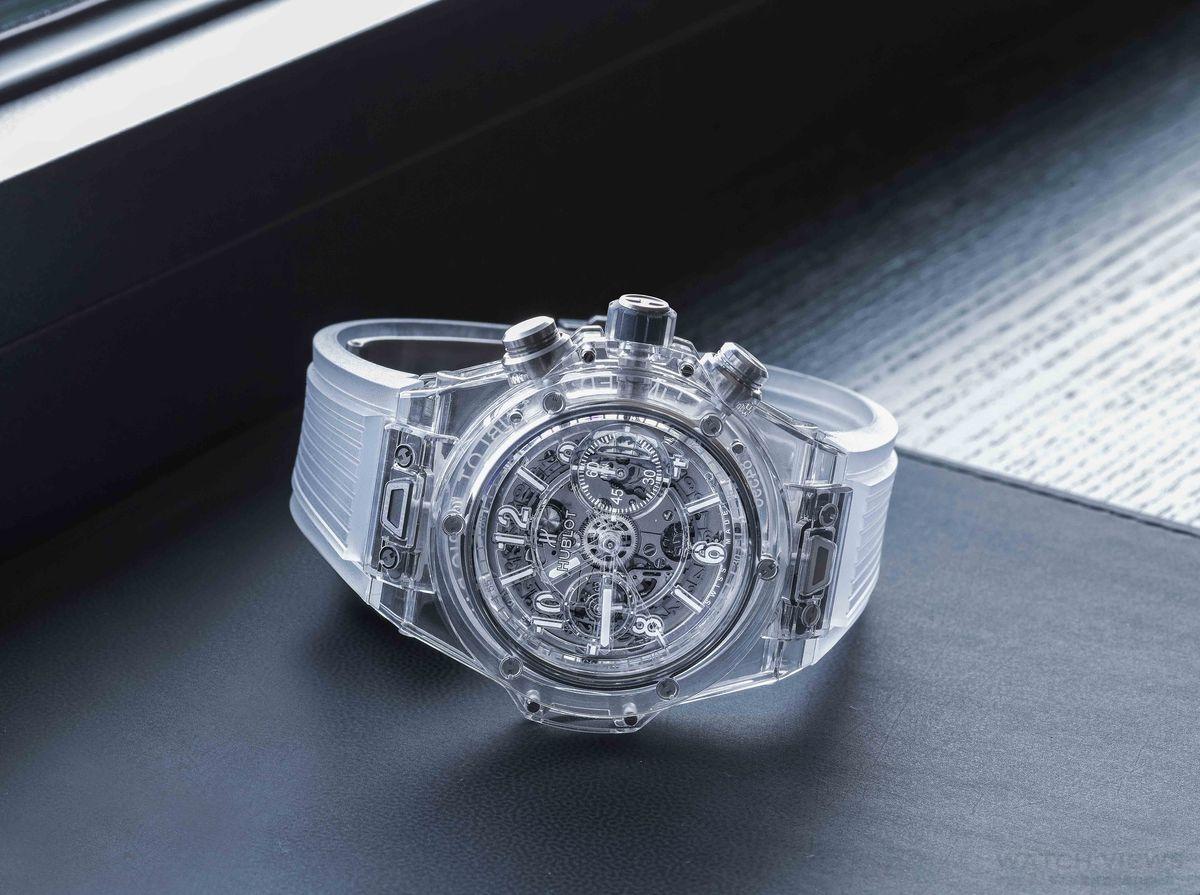 【2016 BASEL展前預報】Hublot Big Bang Unico藍寶石水晶腕錶