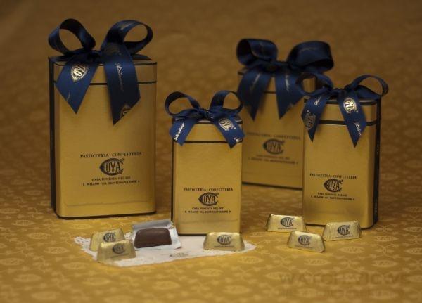 COVA經典金磚巧克力Gianduiotti。