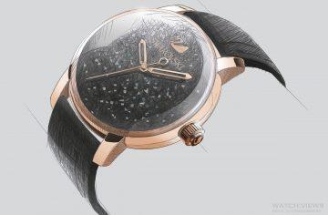 【2016 BASEL展前預報】Swarovski施華洛世奇將發表首款自動錶—Crystalline Hours