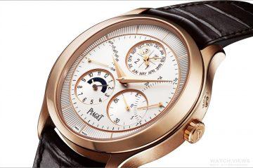 糅合圓弧設計與高級製錶技藝,打造時計的至尊工藝:Piaget全新Gouverneur 萬年曆腕錶