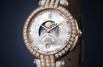 【2016 BASEL展前預報】海瑞溫斯頓卓時Premier系列36毫米月相女錶