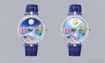 【2016 SIHH報導】水中仙子:Van Cleef & Arpels 梵克雅寶Lady Arpels Jour Nuit Fée Ondine 腕錶