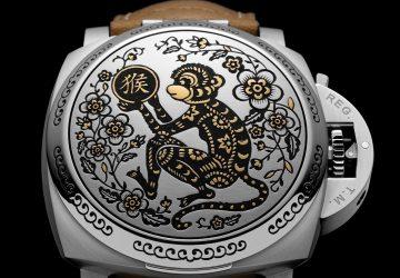 沛納海推出Luminor 1950 Sealand 3 Days Automatic Acciaio 猴年限量版腕錶(PAM00850)