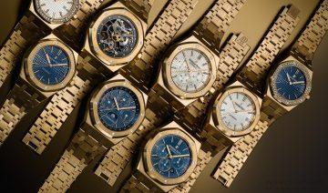 愛彼皇家橡樹黃金系列全新錶款上市,寶鴻堂鐘表台中五權旗艦店盛大開展