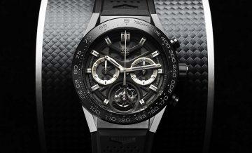 瑞士轟天雷降臨,台幣52萬可買名牌陀飛輪計時碼錶:TAG Heuer 泰格豪雅Carrera Heuer-02T瑞士官方天文台認證自動上鏈陀飛輪計時碼錶