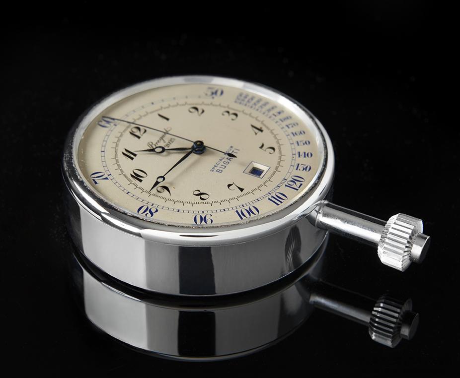 寶璣購回1930年代專為Bugatti製造的古董車用計時鐘