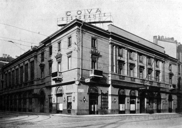 位於義大利米蘭的知名甜點店COVA,起源於西元1817年,至今已有近兩百年歷史。