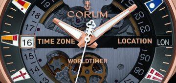 【2016 BASEL展前預報】CORUM崑崙表海軍上將盃Legend 47世界時間腕錶 磅礡啟航