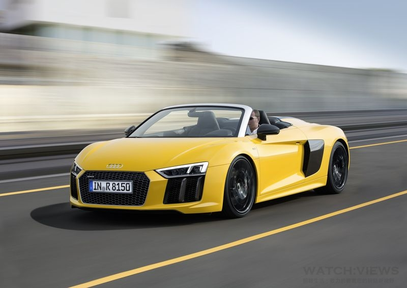 Audi首發New R8 Spyder V10 台灣5月上市New R8 Coupé V10
