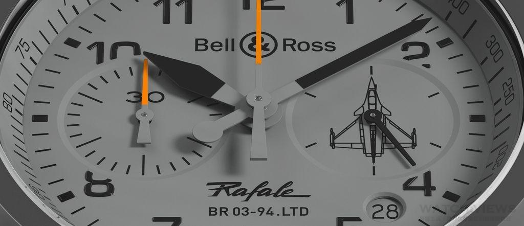 航空科技的逆向工程 Bell & Ross BR 03-94 Rafale飆風戰機腕錶